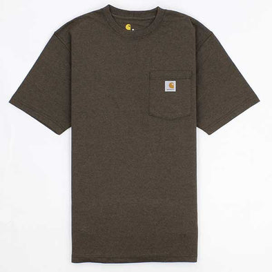 Carhartt Workwear Pocket Dark Coffee Heather