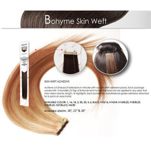 Bohyme Adhesive Skin Weft Remi Extensions 18, 22, 26""
