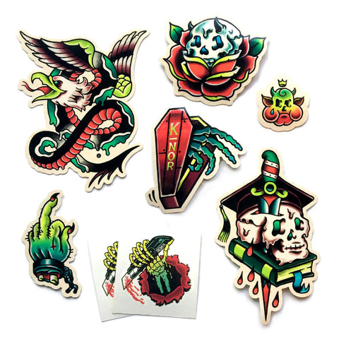 TATTOO FLASH STICKER PACK