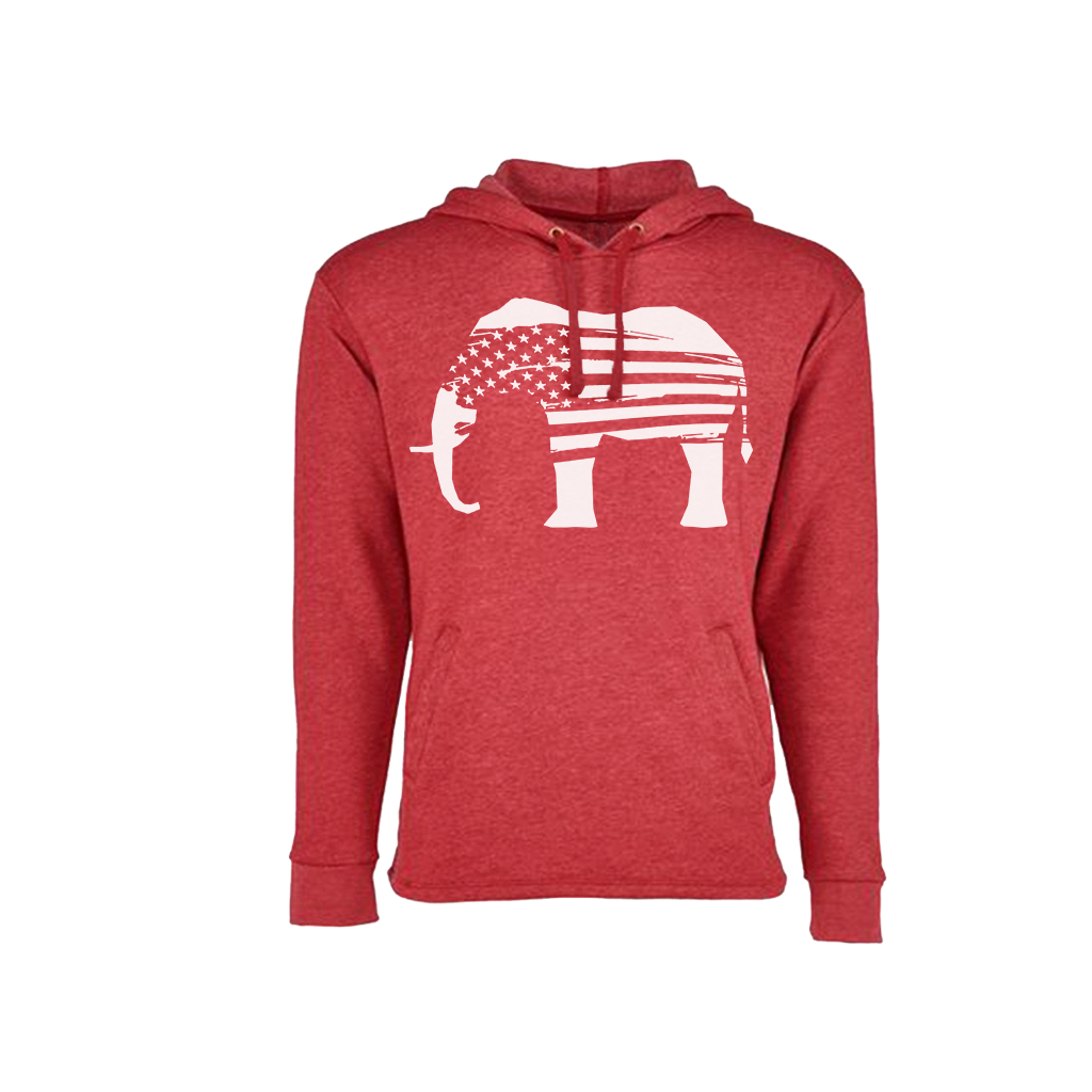 The Red Elephants Logo Hoodie
