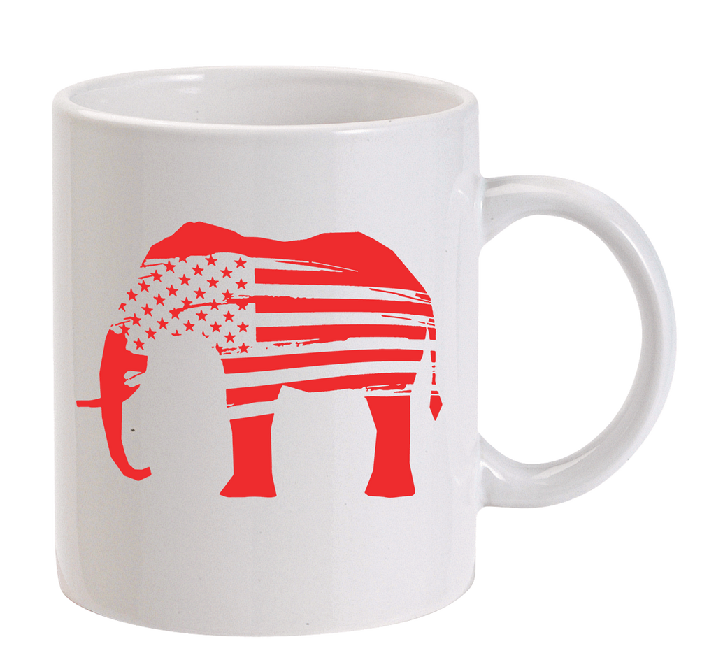 Red Elephants Mug