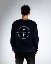 Blended Cotton Crewneck Sweater - Palm to Pine