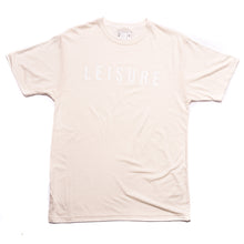 Off white T-shirt with Leisure logo