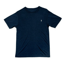Navy surf t-shirt with palm to pine logo