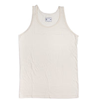 off white surf tank top with palm to pine logo