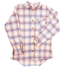 Thick Plaid Button Up Work Shirt