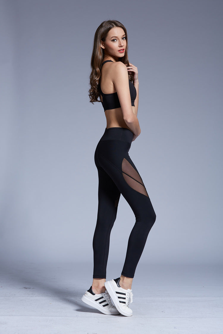 See-through Leggings Sexy Mesh Leggings