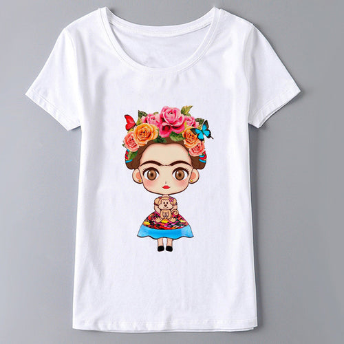 Frida Kahlo Trendy Tee