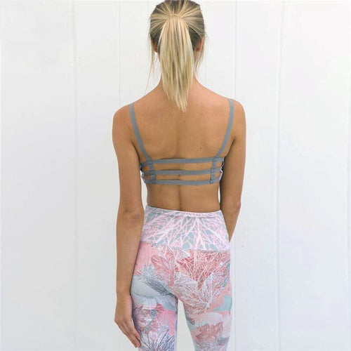 Pretty Pink/  2 piece set leggings and tank top