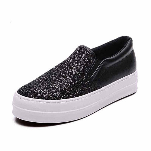 Flat Shoes Bling Casual Shoes
