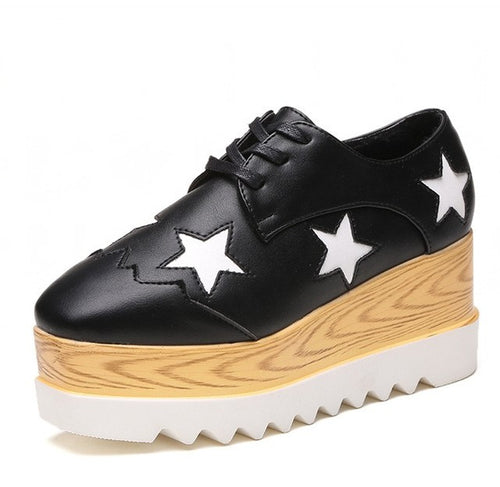 Fashionble Women Casual Shoes PU Leather