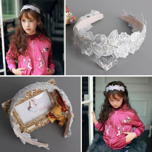 High Quality Knit Flowers Hairband