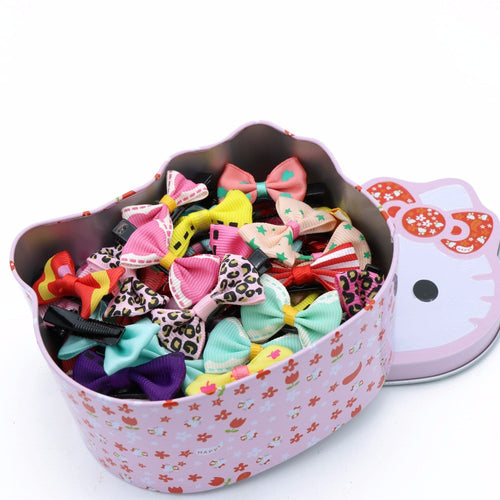 Hello Kitty Box of Bows and Hairpins (50 piece)