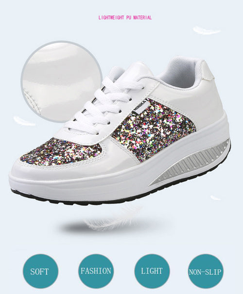 Superstar Fashion Diamond Bling Shoes Non-slip  Waterproof