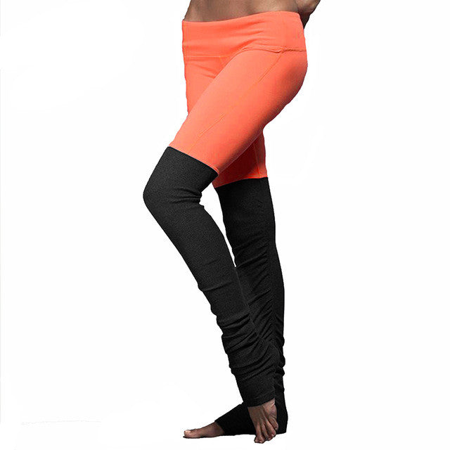Dance/Workout Leggings Quick Dry Compression Leg Warmer look