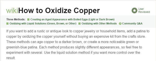 oxidize copper fidget spinner