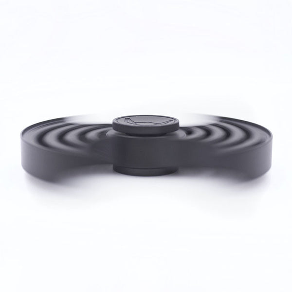 Sonar™ Fidget Spinner - Black Stainless Steel