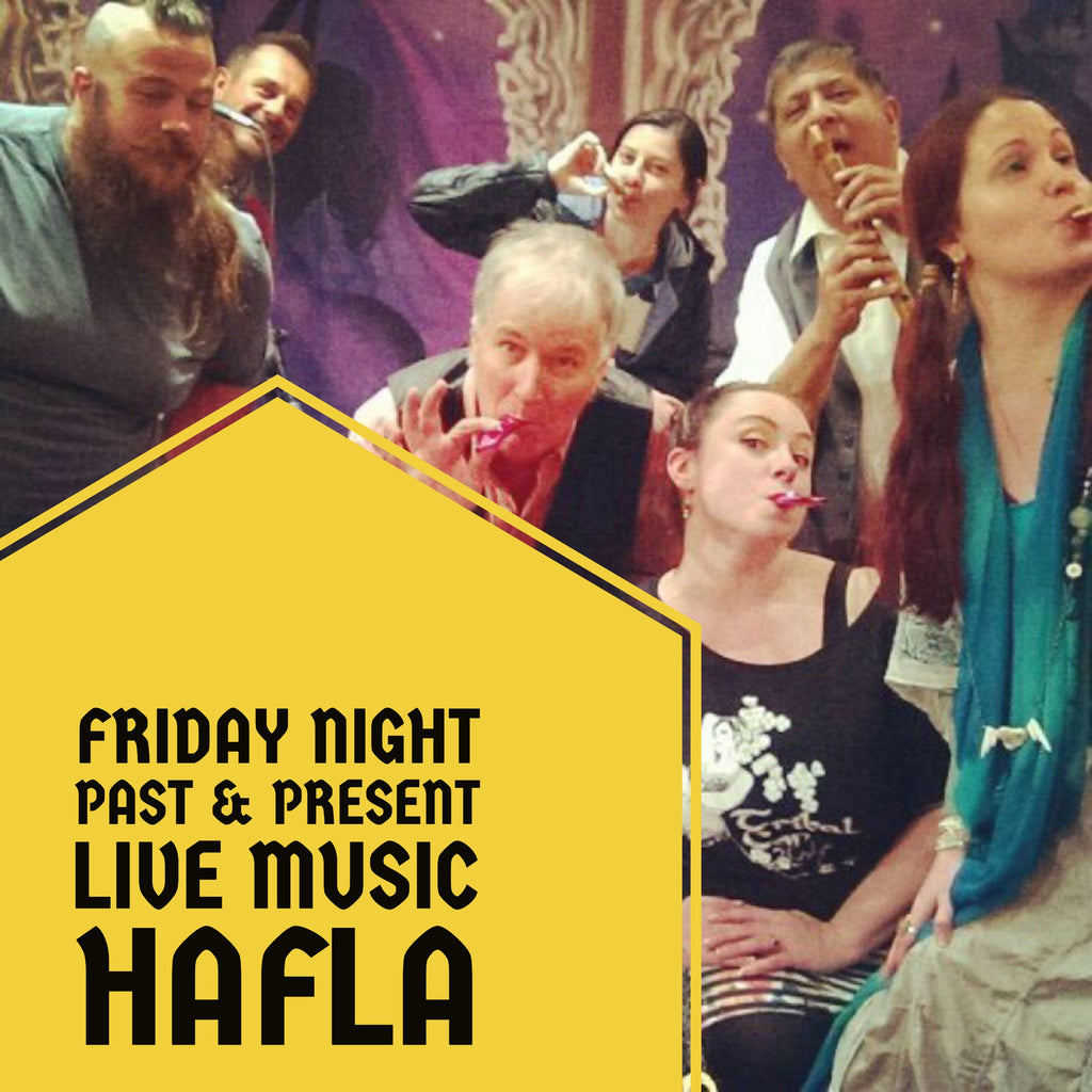 Past and Present Friday Hafla at CORE Studio