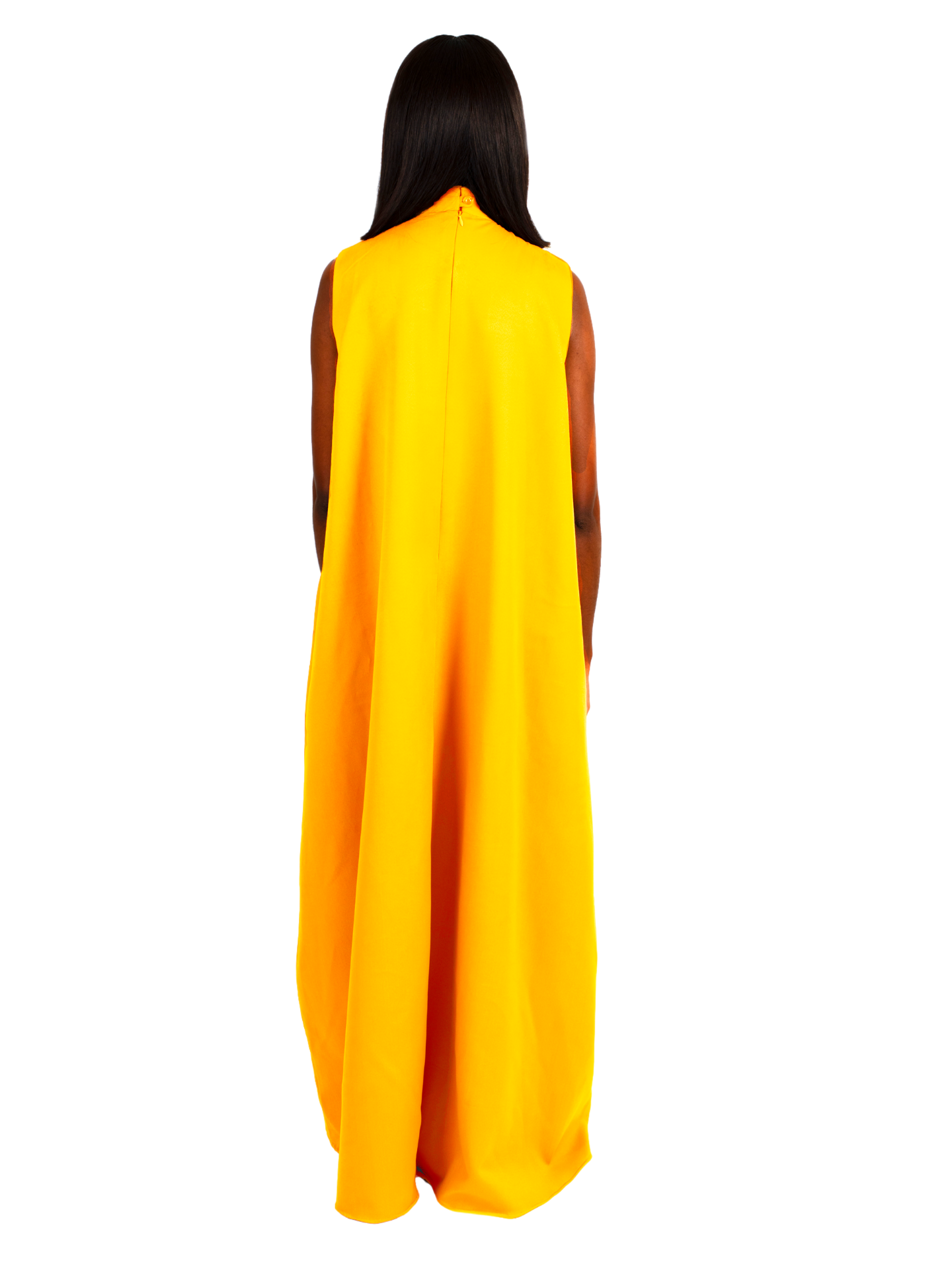 Zen Dress in Yellow