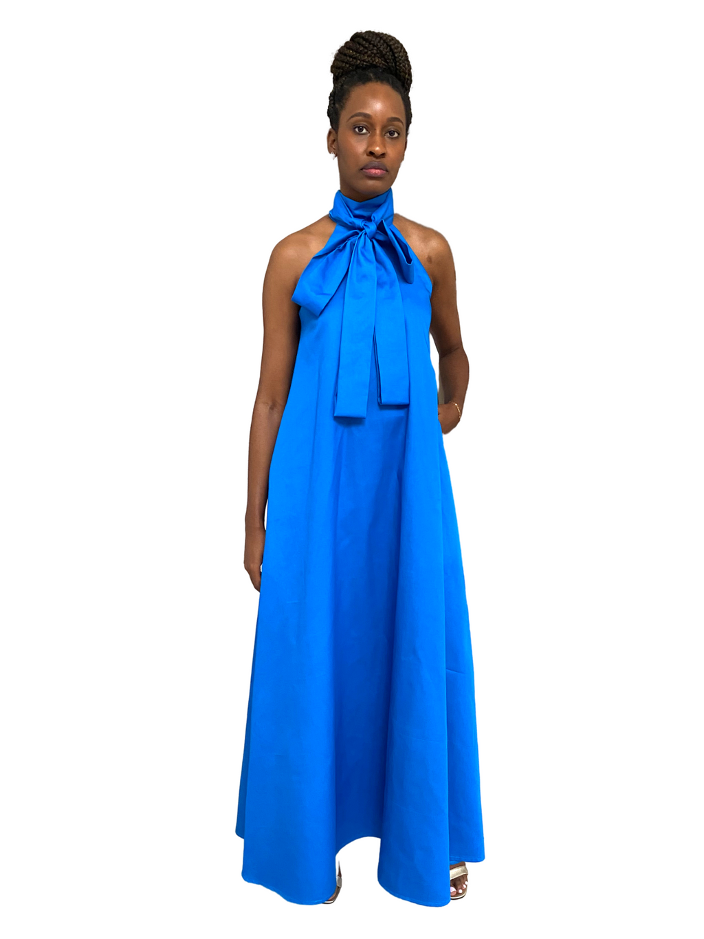 Pam Dress in Electric Blue