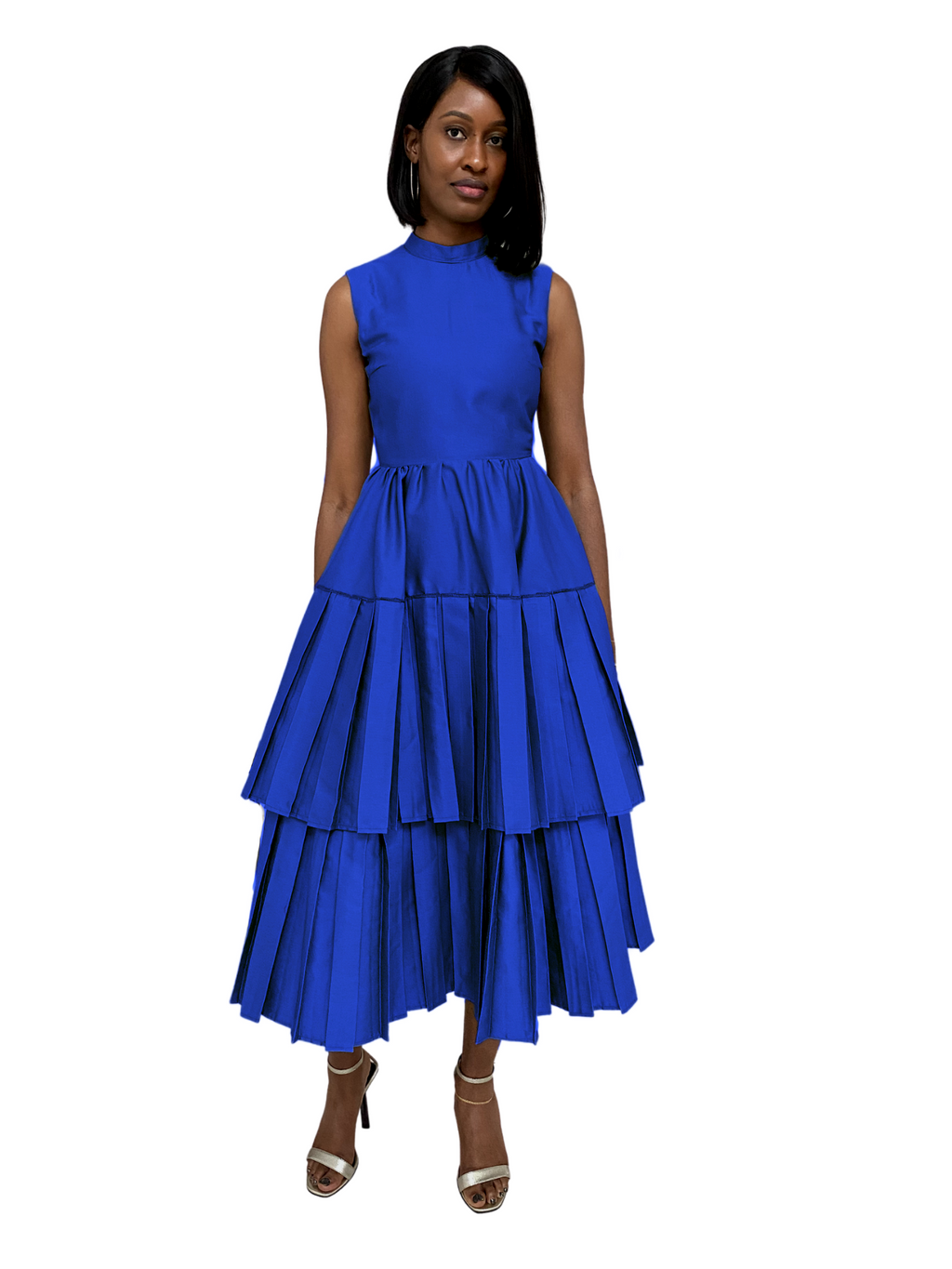 Salma Dress in Cobalt Blue