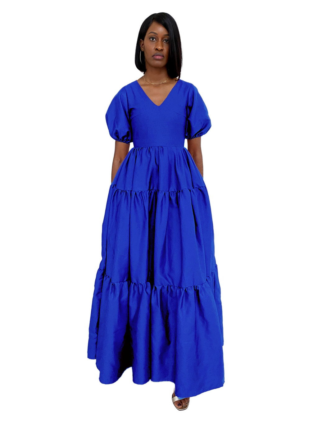 Zina 2.0 Dress in Cobalt Blue