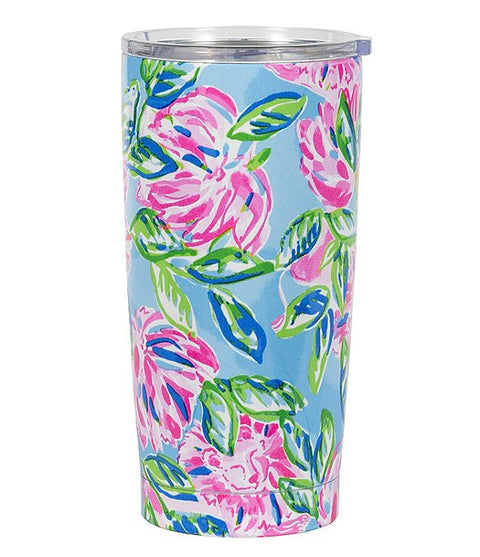 Lilly Pulitzer Thermal Mug, Totally Blossom