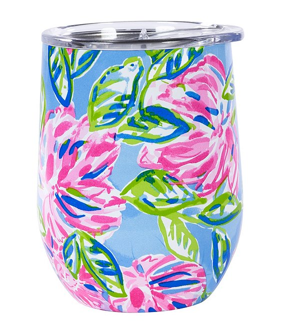 Lilly Pulitzer Stemless Tumbler, Totally Blossom