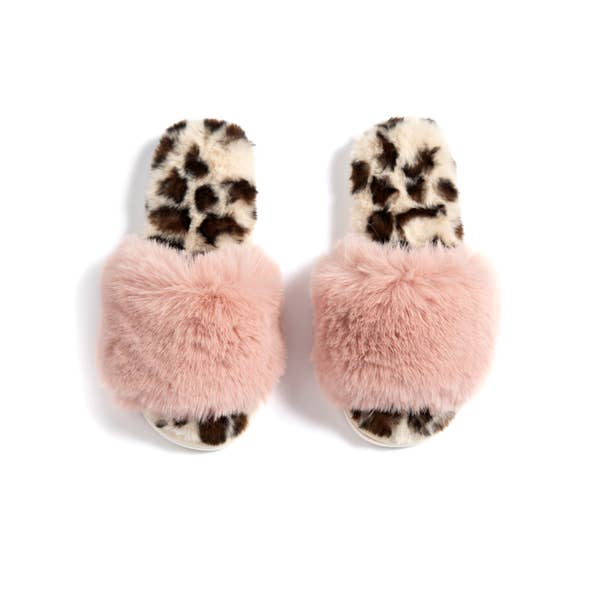 Vail Leopard Slippers