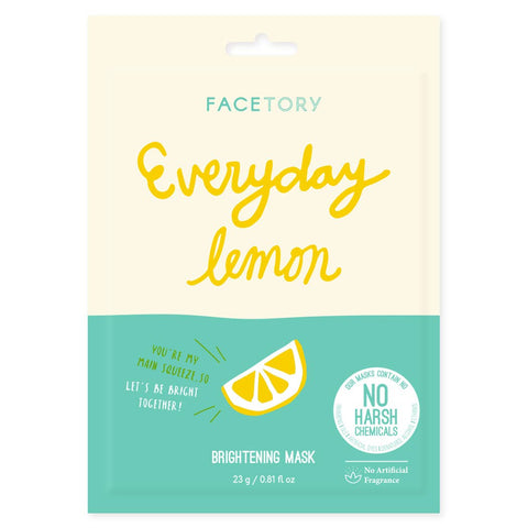 Lemon Brightening Mask