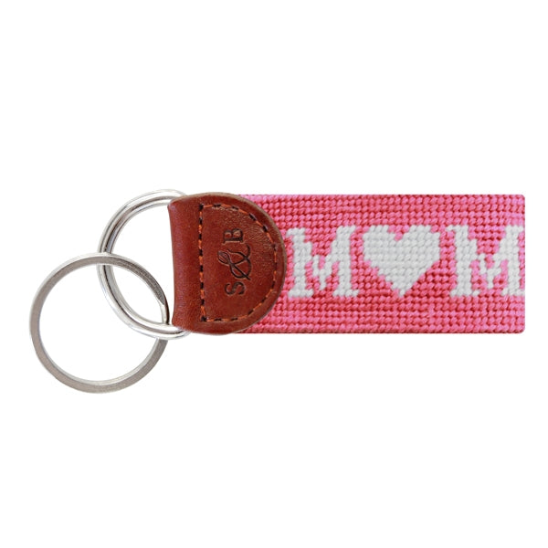 Key Ring, Mom Needlepoint