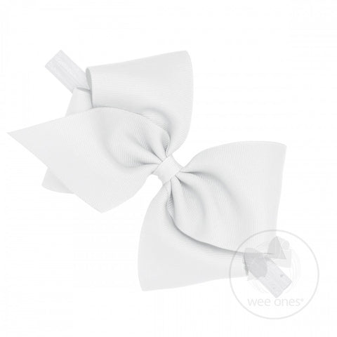 Mini King Classic Grosgrain Bow on Baby Band