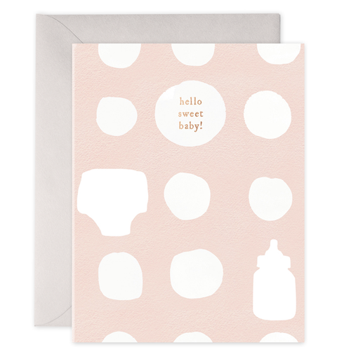 Greeting Card, Peachy Baby