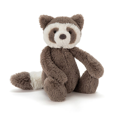 Jellycat Bashful Raccoon, Medium
