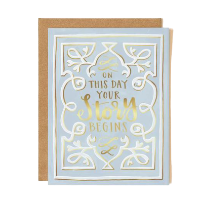 Greeting Card, Storybook Wedding