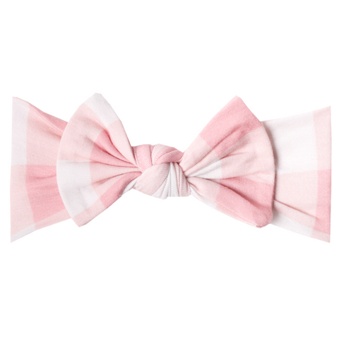 London Knit Headband Bow