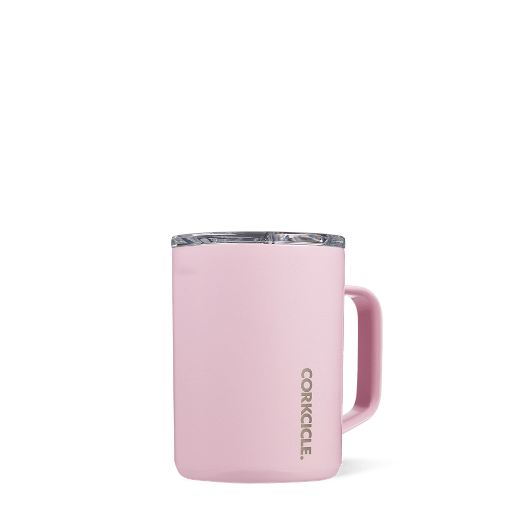 Corkcicle 16oz Mug, Rose Quartz