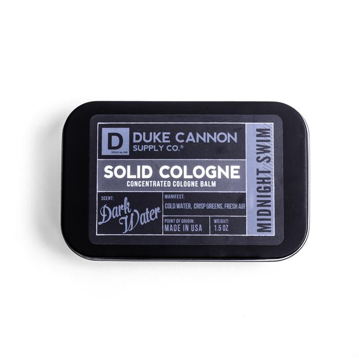 Duke Cannon Solid Cologne, Midnight Swim