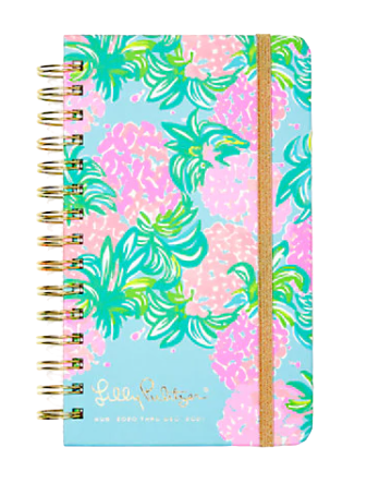 Lilly Pulitzer Medium Agenda, Pineapple Shake