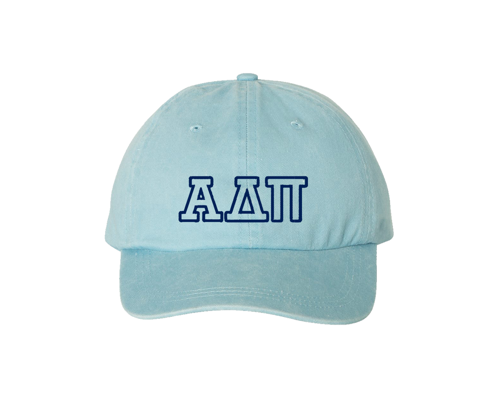 ADPi Sorority Outline Cap