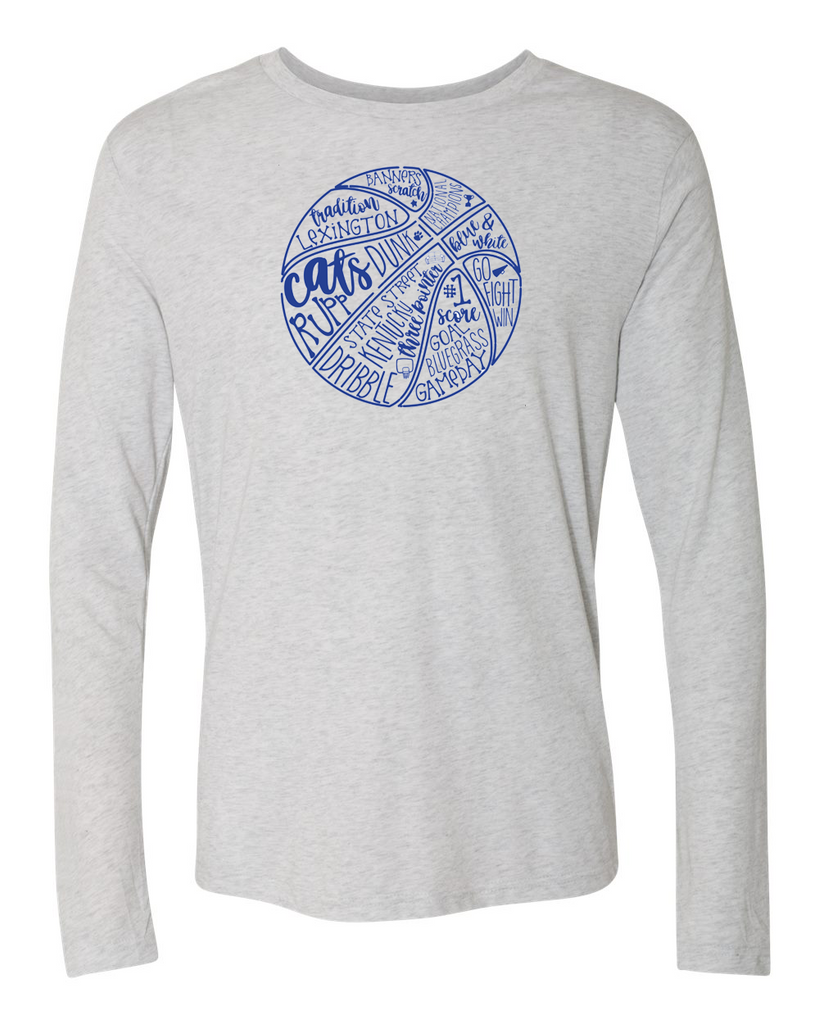 Cats Basketball Long Sleeve Tee