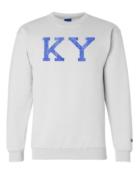 Distressed KY Crewneck