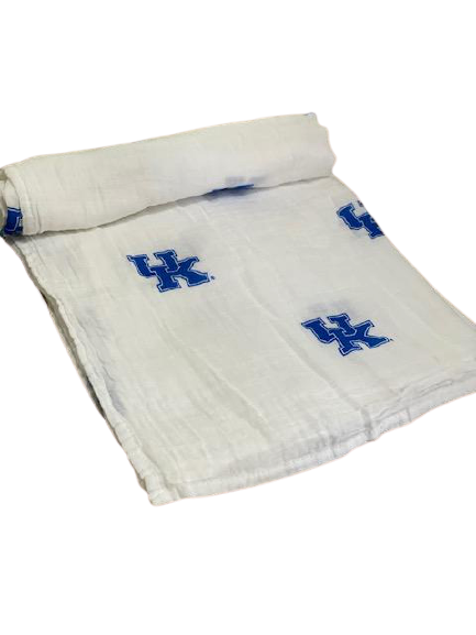 University of Kentucky Muslin Swaddle