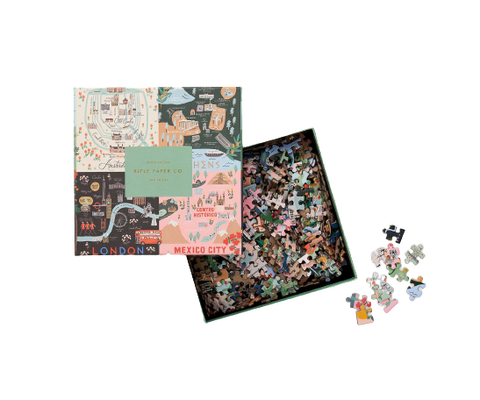 Rifle Paper Co. Jigsaw Puzzle, Maps