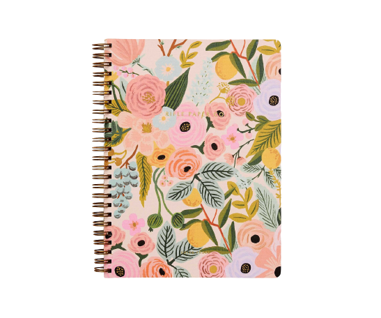 Rifle Paper Co. Spiral Notebook, Garden Party