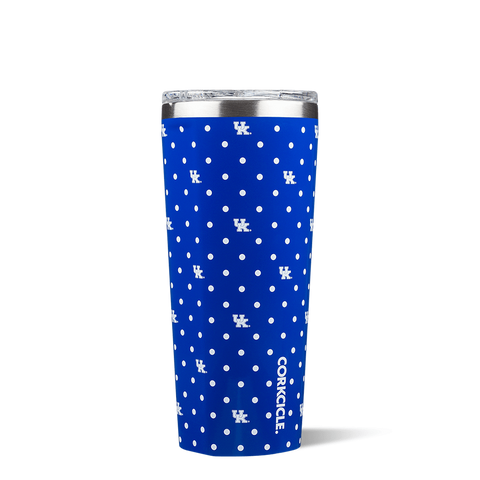 UK Polka Dot 24 oz. Corkcicle Tumbler