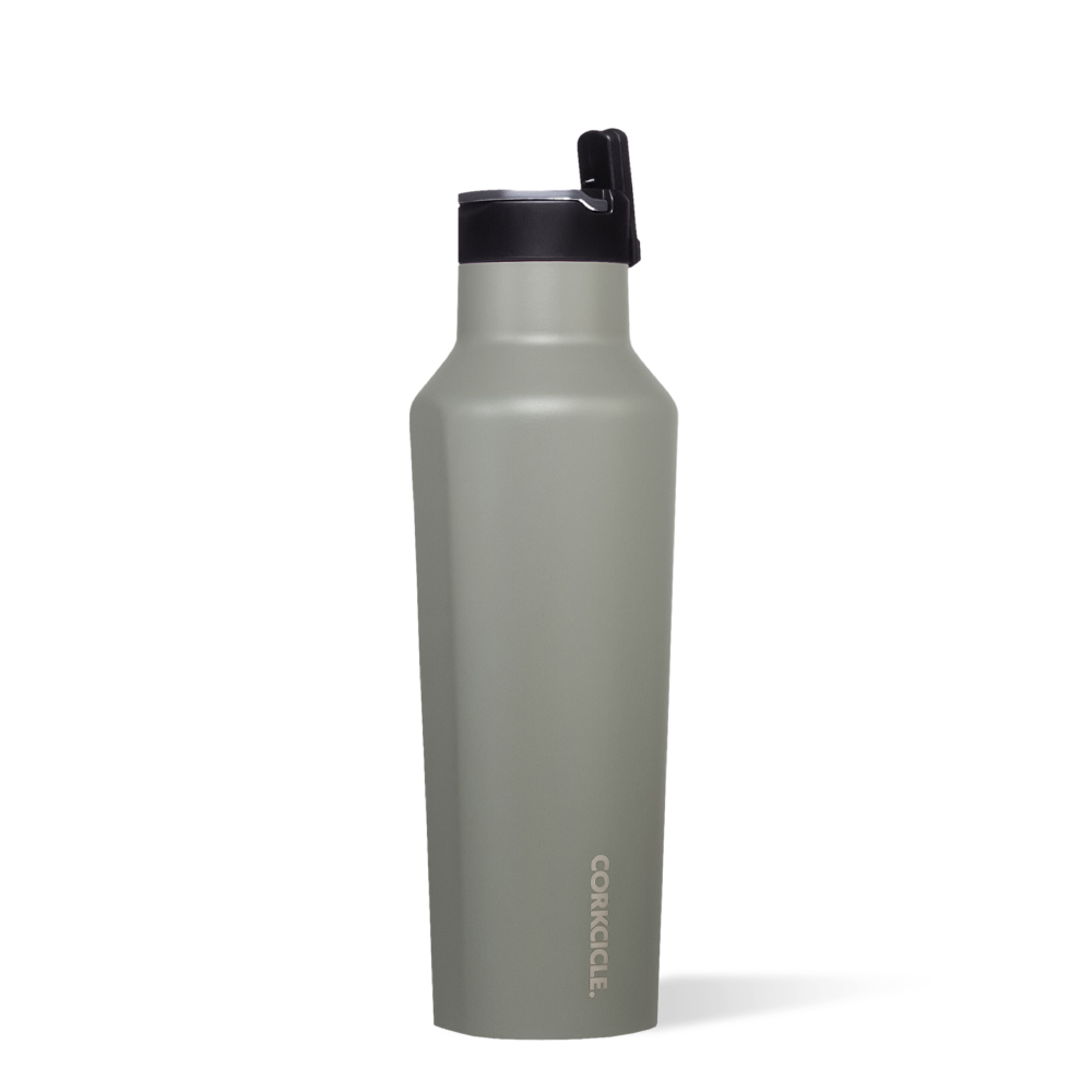 Corkcicle 20oz Sport Canteen, Tactical Gray