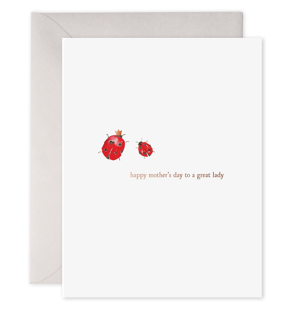 Greeting Card, A Great Lady