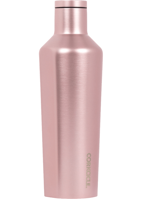 Corkcicle 16oz Canteen, Rose Metallic