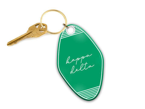 Sorority Motel Keychains